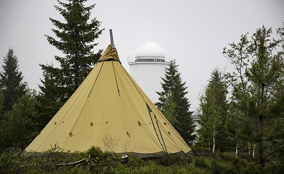 Tentipi 15 manns Safir på Astro campen vår.